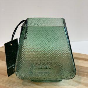 Waxine vierkant groen