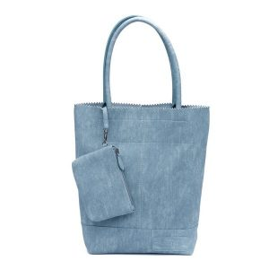 Zebra tas natural bag kartel – Blauw
