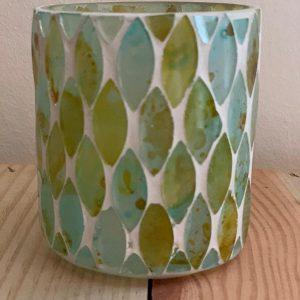 Waxine groen/blauw 'groot'